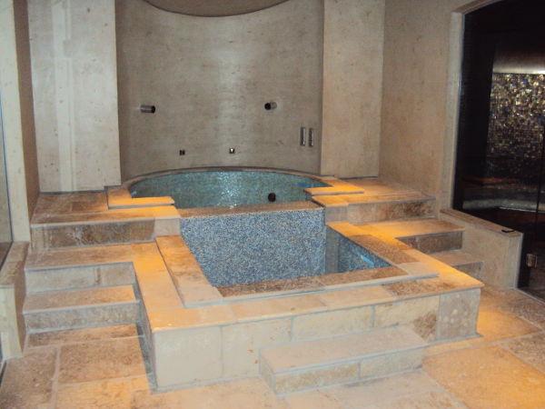 Badewanne Naturstein badezimmer aus naturstein
